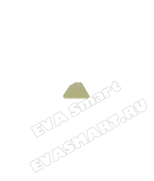 """ЭВА полимер листовой Бежевый """"мини ромб"""" 125*220"""