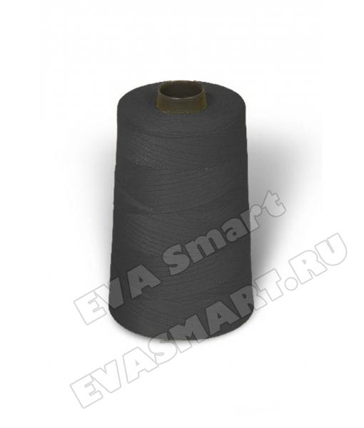 Нитки швейные цвет темно-серый (70ЛЛ)
