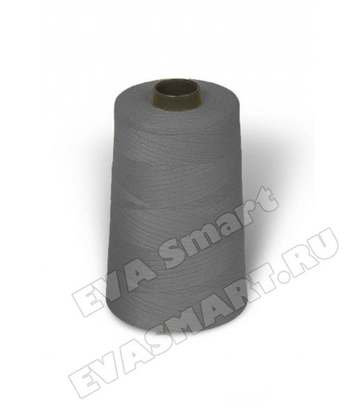 Нитки швейные цвет серый (70ЛЛ)