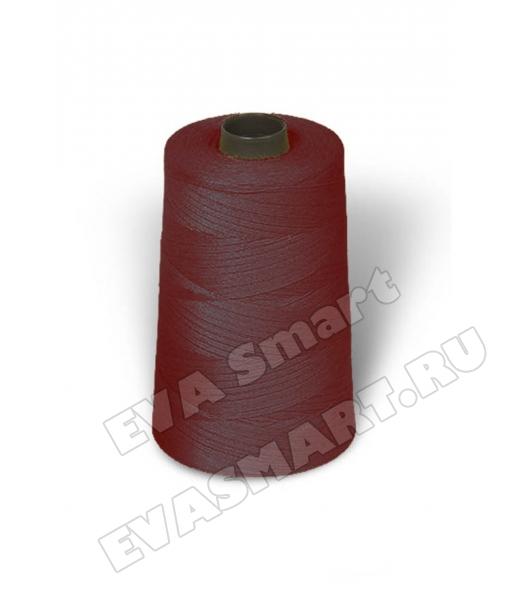 Нитки швейные цвет бордовый (70ЛЛ)