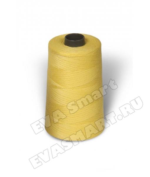 Нитки швейные цвет жёлтый (70ЛЛ)