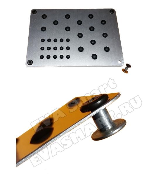 Подпятник металлический (алюминиевый) Китай