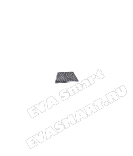 Подпятник полимерный (ТЭП) серый - ромб