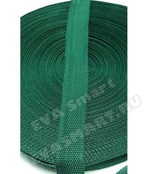 Стропа п/п 30мм Темно зеленая (№310)