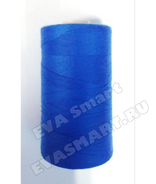 Нитки швейные цвет синий (70ЛЛ)